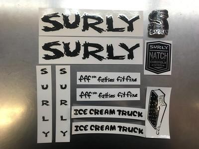 SURLY Decal Ice Cream Truck BK