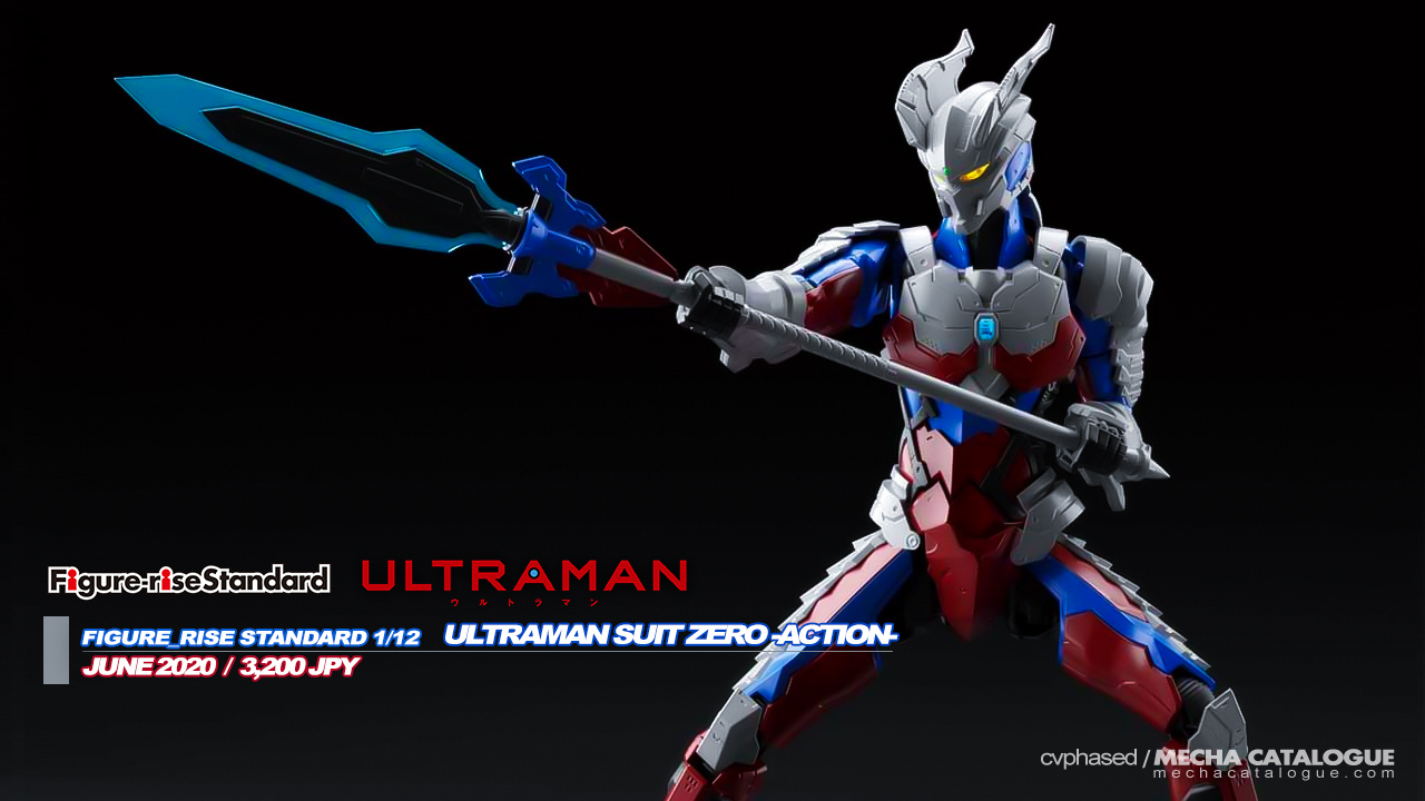 Should've Done This From the Start: Figure-rise Standard ULTRAMAN SUIT ZERO -Action-