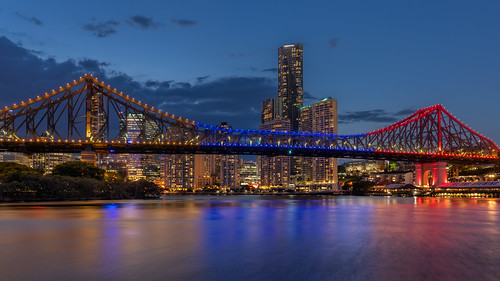 queensland australia brisbane storybridge brisbaneriver
