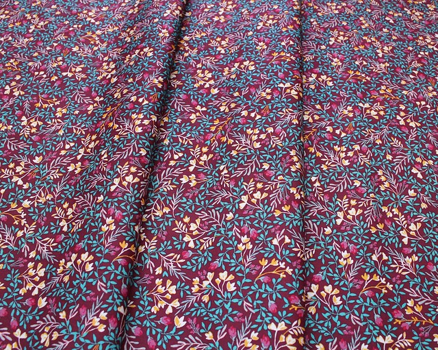 【METERS / 1m単位】Art Gallery Fabrics Foresta Fusion Floral No.9 Foresta