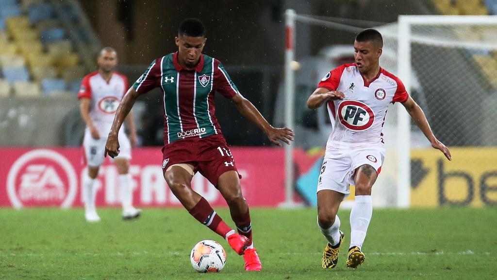 Fluminense x Unión La Calera - 04/02/2020