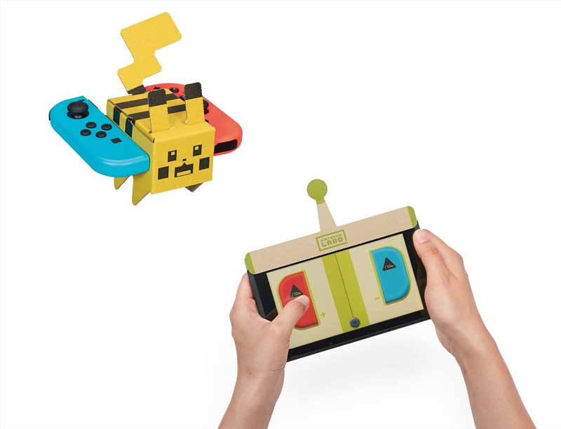附贈品才是本體!雜誌《幼稚園》x Nintendo Labo 推出《寶可夢探險尋寶》妙蛙種子、皮卡丘、伊布 寶酷方紙模