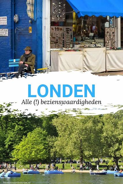 Bezienswaardigheden Londen | 35x leuke dingen doen in Londen