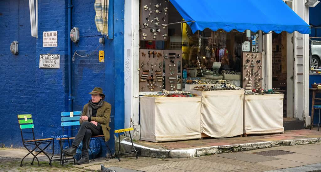 Bezienswaardigheden Londen: Portobello Road Market | Mooistestedentrips.nl