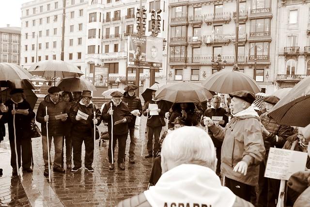 Coro de ASPARBI en Santa Agueda