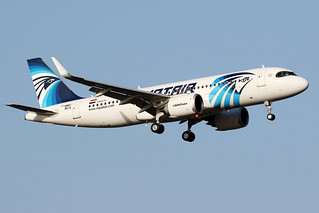 EGYPTAIR / Airbus   A 320 NEO   F-WWBI   msn 9519 / LFBO - TLS / fév 2020