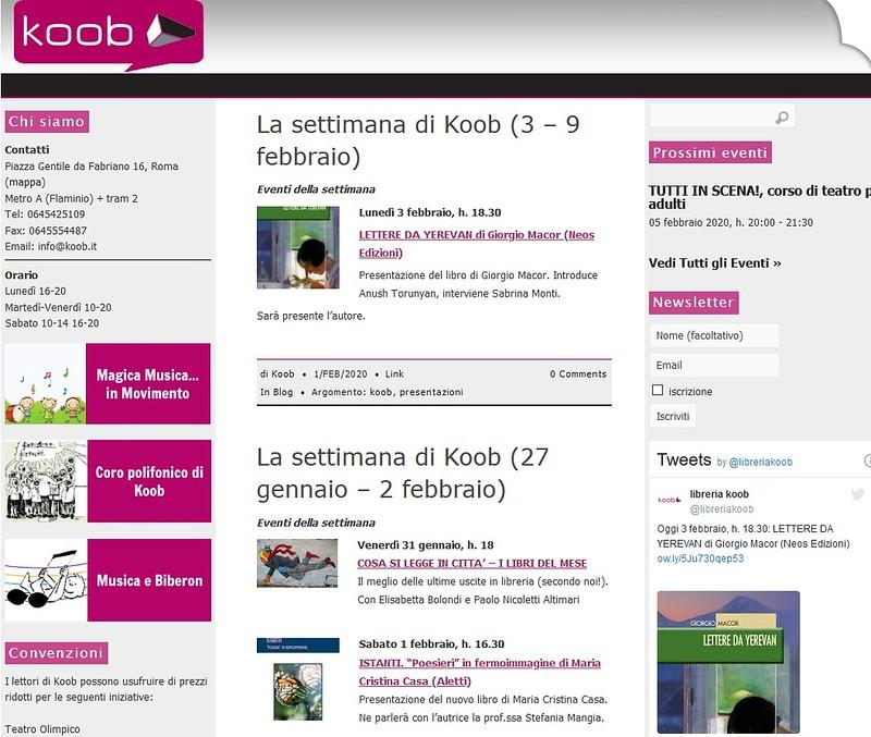 Koob Roma Quintieri Palermo mon amour