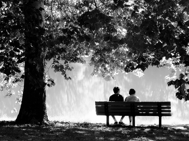 A Quiet Moment - Nature - B&W