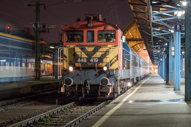 MÁV 448 419 Budapest Keleti