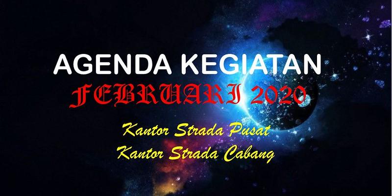 Agenda Kegiatan KSP dan KSC Bulan Februari 2020