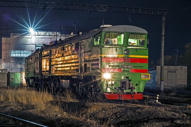 KTZ 2TE10M loco
