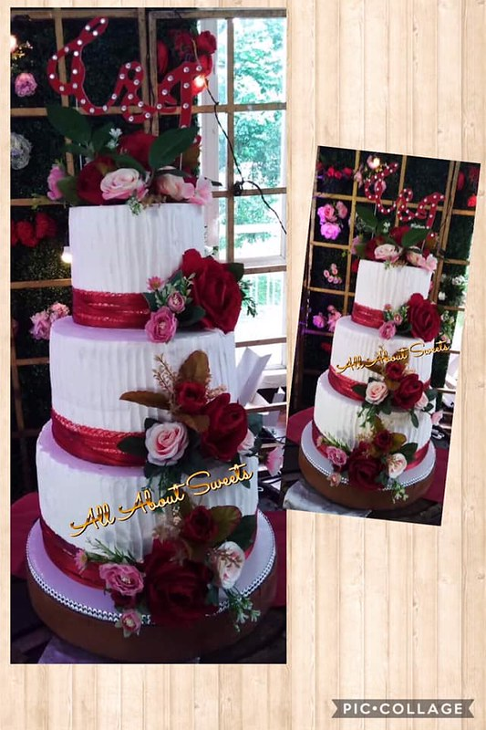 Wedding Cake by All About Sweets