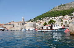 Dubrovnik (Croacia). Dubrovnik vista desde el mar