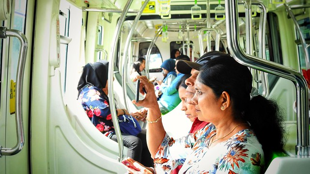 Riding the KL Monorail