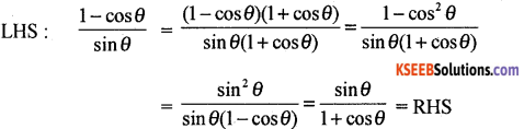 1st PUC Basic Maths Question Bank Chapter 13 Angles and Trigonometric Ratios - 7
