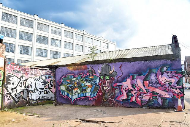 Graffiti, Digbeth, Birmingham.