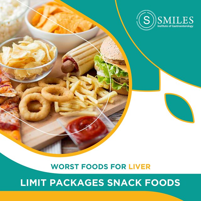 Processed Foods are bad for Liver