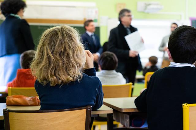 Visite à l'école Jean Auzel de Marcillac-Vallon, 21 janvier 2020