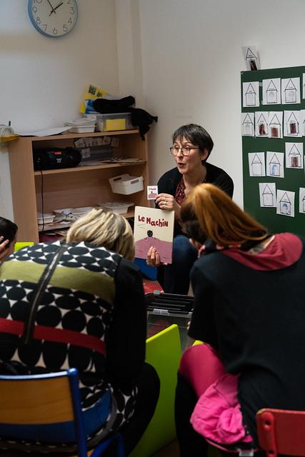 Visite à l'école Jean-Albert Bessières de Rodez, 21 janvier 2020