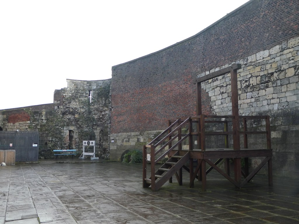 York Castle Museum Prison Yard