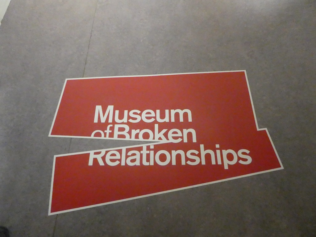 The Museum of Broken Relationships at the York Castle Museum