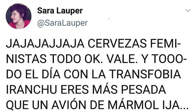 Tuit Sara Lauper