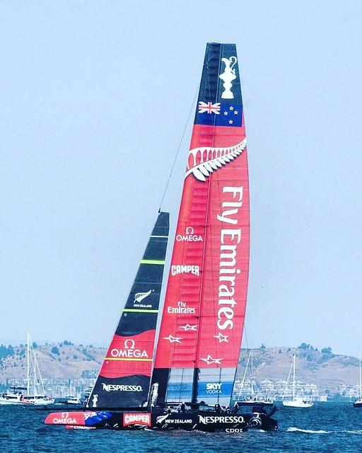 Emirates New Zealand #yachting #sailing #americascup #ac72 2013