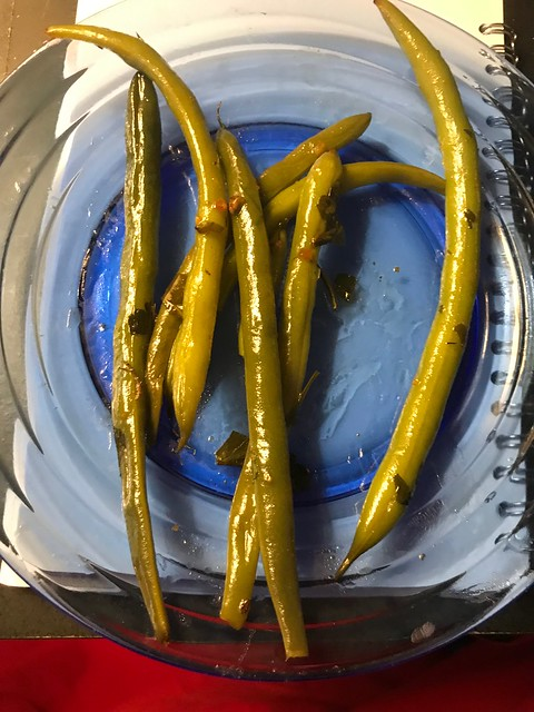 String Beans Roasted With Rosemary From My Garden ... 🎶👏🎶