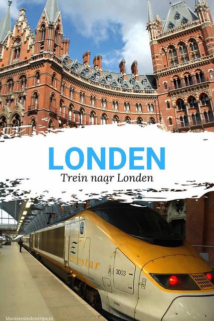 Trein naar Londen | Weekend Londen met de trein, bekijk de tips