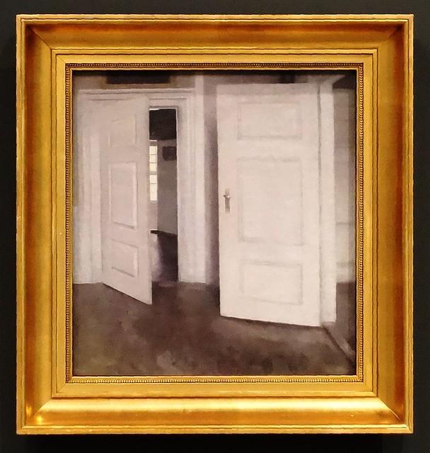 Vilhelm Hammershøi – White Doors. Interior, Strandgade 30 [Copenhagen] – 1899