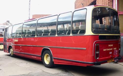 KAU 564V 'Barton Transport' No. 564. Leyland Leopard / Plaxton Supreme /2 on Dennis Basford's railsroadsrunways.blogspot.co.uk'