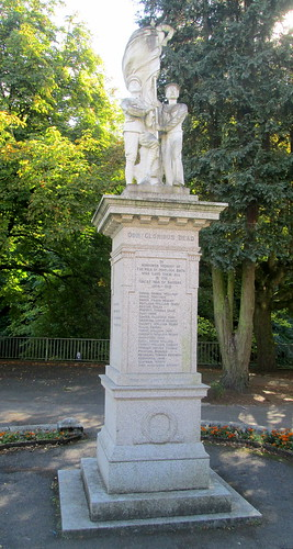 War Memorial, Matlock Bath, Derbyshire