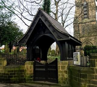 War Memorial lych gate St Cuthberts