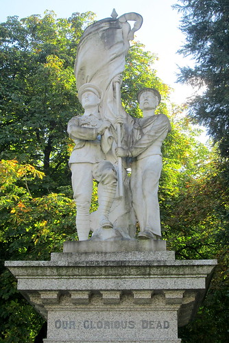 Matlock Bath War Memorial Figures