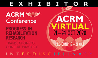 EXHIBITOR: I am EXHIBITING #ACRM2020 Annual Conference VIRTUAL | by ACRM-Rehabilitation