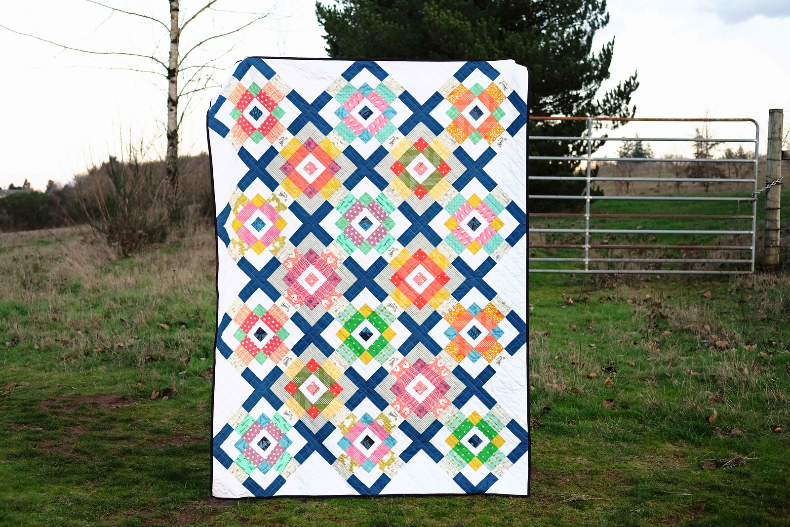The Birdie Quilt (Jelly Roll Version) - Kitchen Table Quilting
