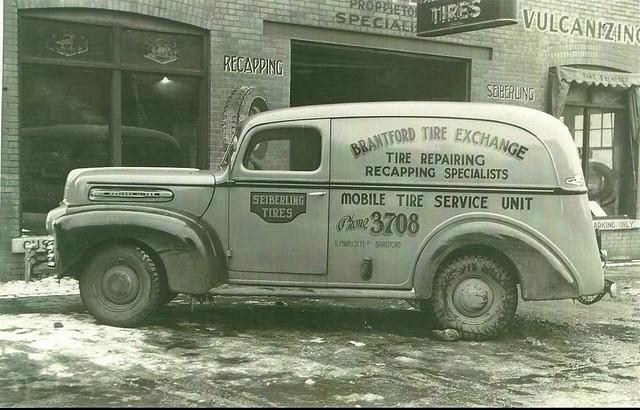 1946 1947 Mercury Panel Van - Canadian - Brantford Ontario