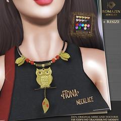 Romazin - Necklace <Fiona> - AnyBody