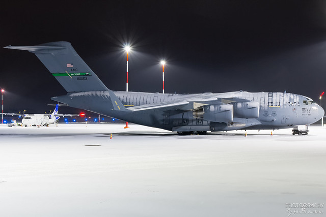98-0053 USAF Boeing C-17A Globemaster III, EFTP, Finland