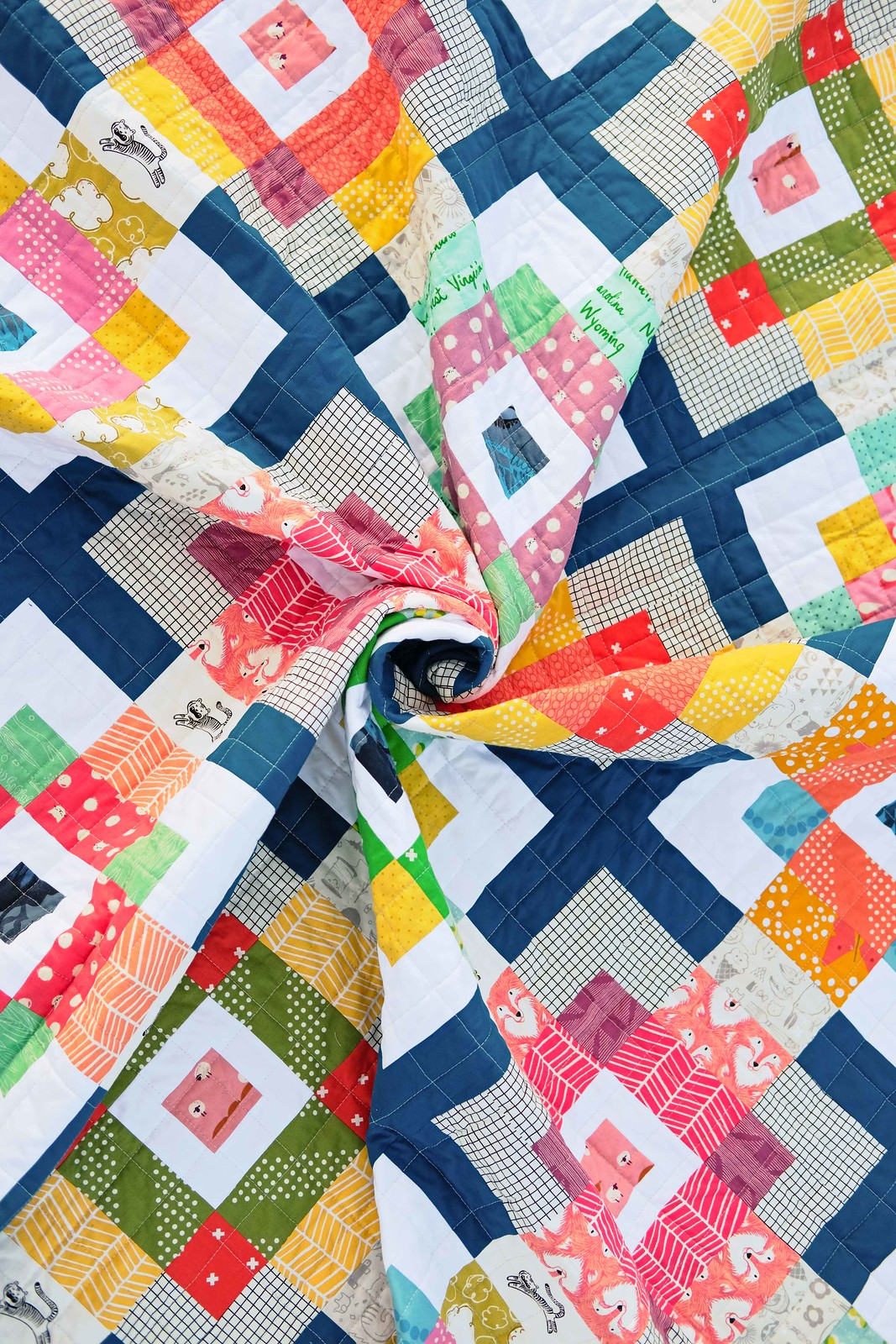 The Birdie Quilt Pattern (Jelly Roll Version) - Kitchen Table Quilting