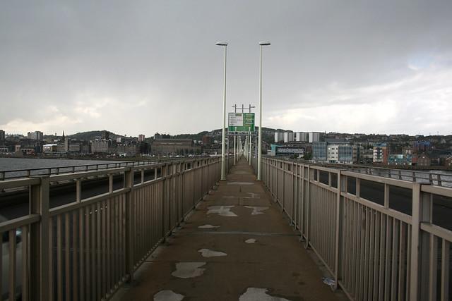 Crossing the Tay Road Bridge