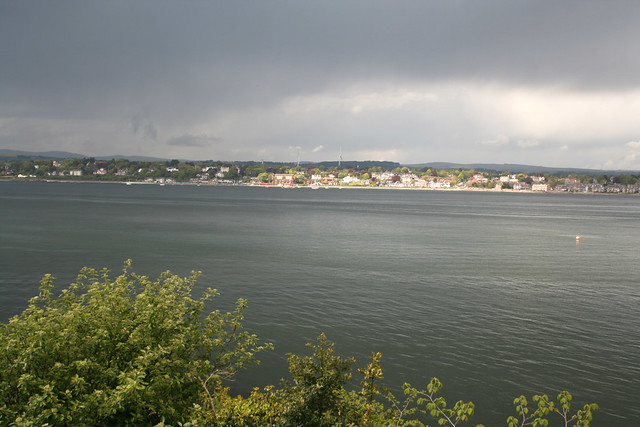 Dundee and the Firth of Tay from Tayport