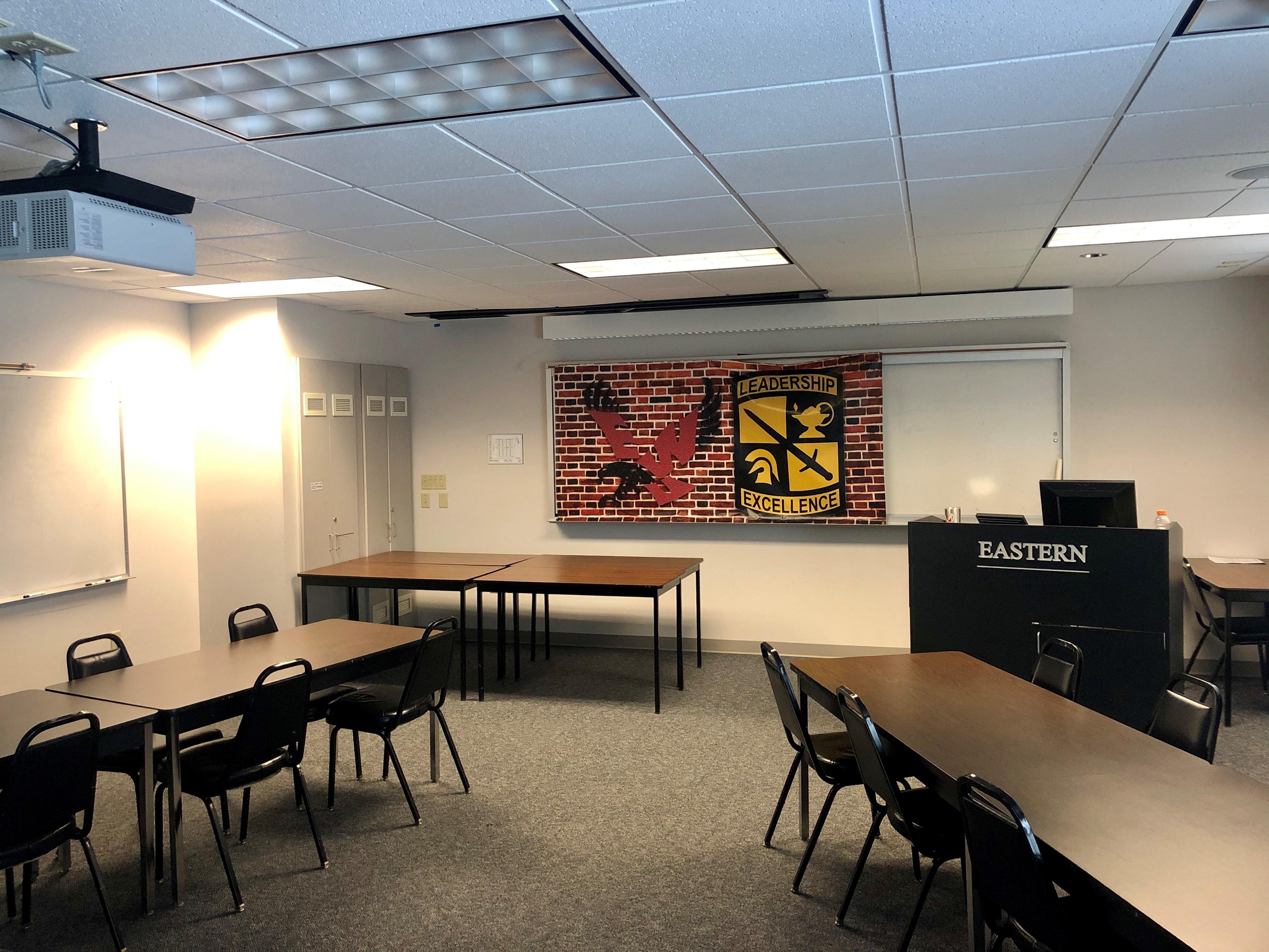 cadet hall classroom
