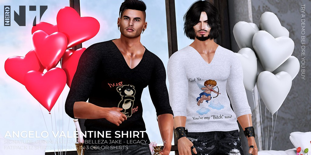 NERO – ANGELO VALENTINE SHIRT – FLICKR
