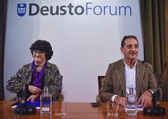 """04/02/2020 - Pepa Torres, teóloga feminista y activista por los derechos de los migrantes, en el ciclo de conferencias """"Miradas para acompañar"""" de DeustoForum"""