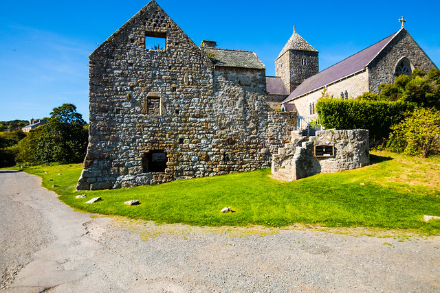 The ancient Penmon Priory destroyed by Henry VIII and Thomas Cromwell