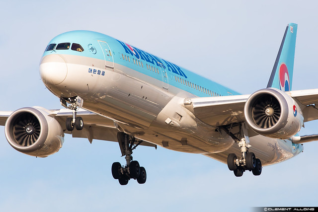 Korean Air Lines Boeing 787-9 Dreamliner cn 34812 / 575 HL8083