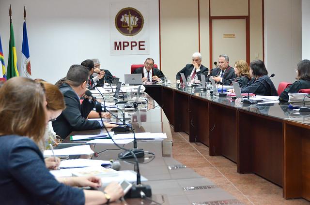 Reunião do Conselho Superior do MPPE