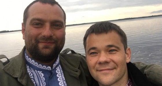 Андрей Ваврыш и Андрей Богдан