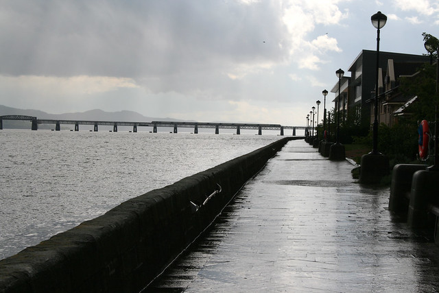 The Firth of Tay at Dundee